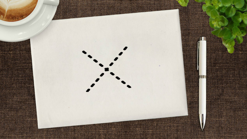 People Are Divided Over The Correct Way Of Writing The Letter 'X'