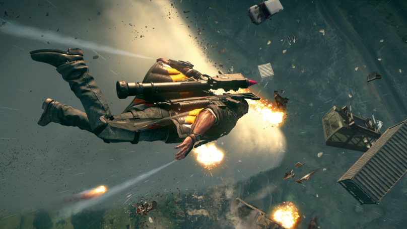'Just Cause 4' Ups The Destruction, And The Belly Laughs