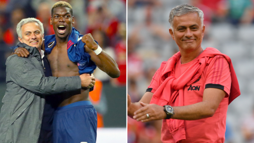 Jose Mourinho Denies Rumours Of Rift With Paul Pogba