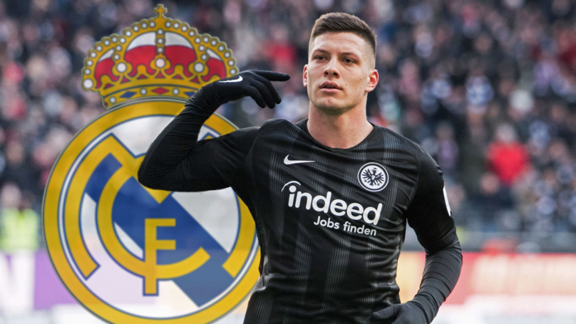 Real Madrid Confirm Signing Of Eintracht Frankfurt Striker Luka Jovic For £62 Million