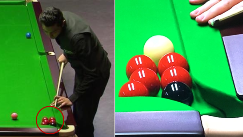A 73 Minute Frame Of Snooker At The Welsh Open Is The Most Bizarre Ever