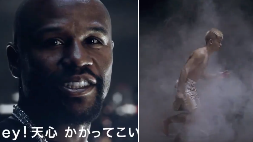 The Official Promo For Mayweather Vs. Nasukawa Has Dropped And It's Bizarre