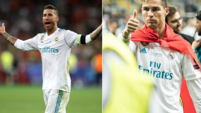 Ramos Chastises Ronaldo, Reports Of Disgruntlement In Real Madrid Dressing Room After UCL Win