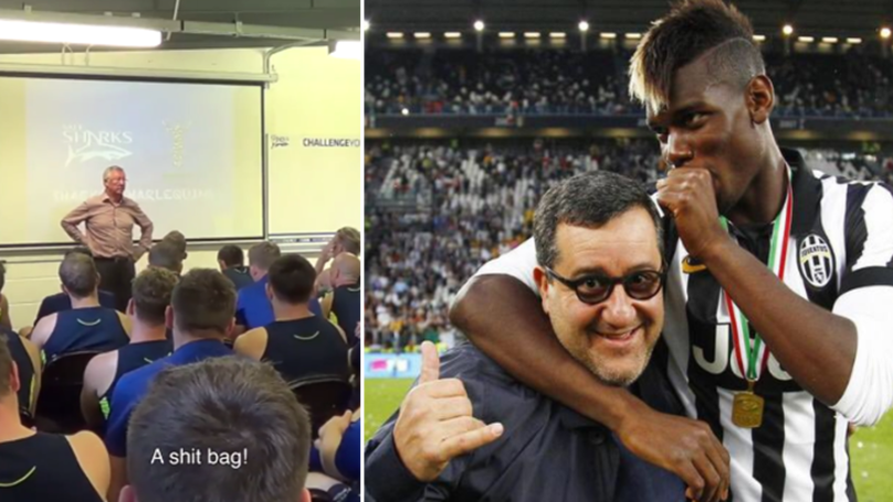 Sir Alex Ferguson Had A Scathing Assessment Of Mino Raiola