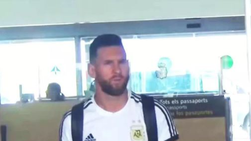 Only One Argentina Player Travelled Home On The Team's Plane