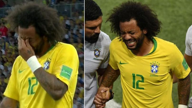 Brazil's Team Doctor Reveals Bizarre Way Marcelo Injured His Back