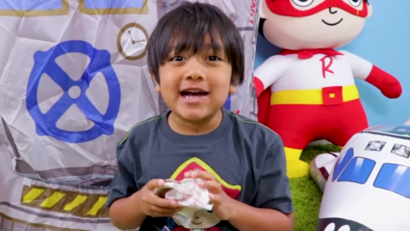 Highest Paid YouTuber In The World Is An Eight-Year-Old Boy