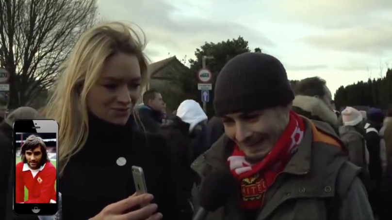 Lifelong Manchester United Fan Asked To Name The Player, Doesn't Recognise It's George Best
