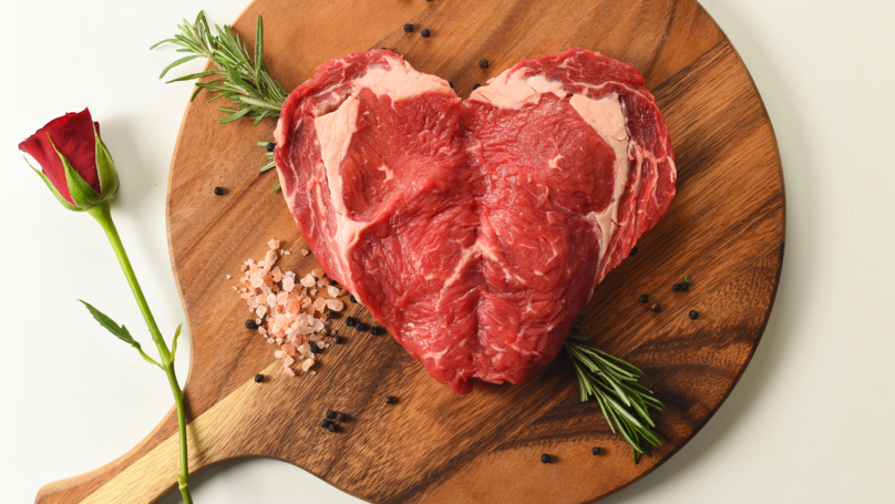 Morrisons' Sweetheart Steak Is The Perfect Valentine's Day Dinner