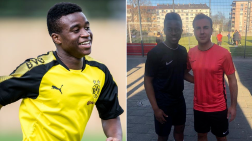 14-Year Old Youssoufa Moukoko Scored 46 Goals In 25 Games In Under 17 Bundesliga
