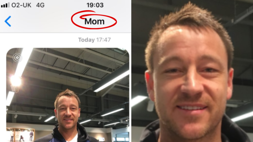 Mum Asks John Terry For Photo, Turns Out To Be Most Awkward Situation Ever