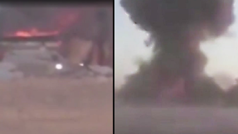ISIS Suicide Car Bomb Blown Up Just Yards Away From Iraqi Militia Troops