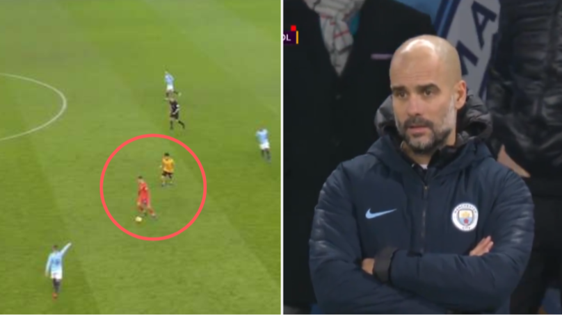 How Pep Guardiola Reacted To Ederson 'Playing In Midfield' Vs. Wolves