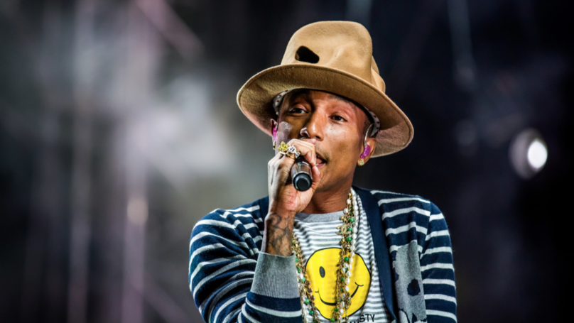 Pharrell Williams Got Stuck In A Lift Listening To His Own Song