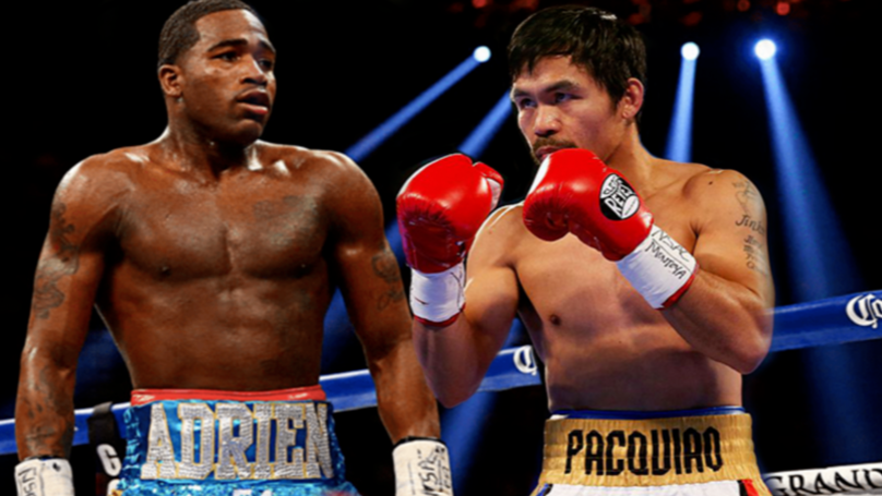 Manny Pacquiao To Fight Adrien Broner In Las Vegas On January 19th