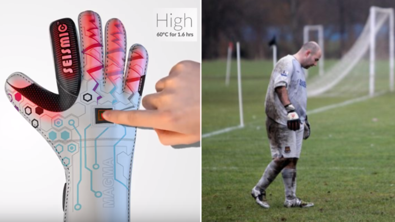 You Can Buy Heated Goalkeeper Gloves To Keep You Warm This Winter