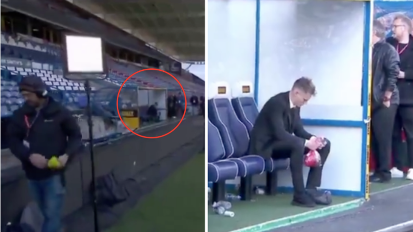 Scott McTominay Looked Devastated As He Sat Alone In Dugout After Man Utd Draw vs Huddersfield
