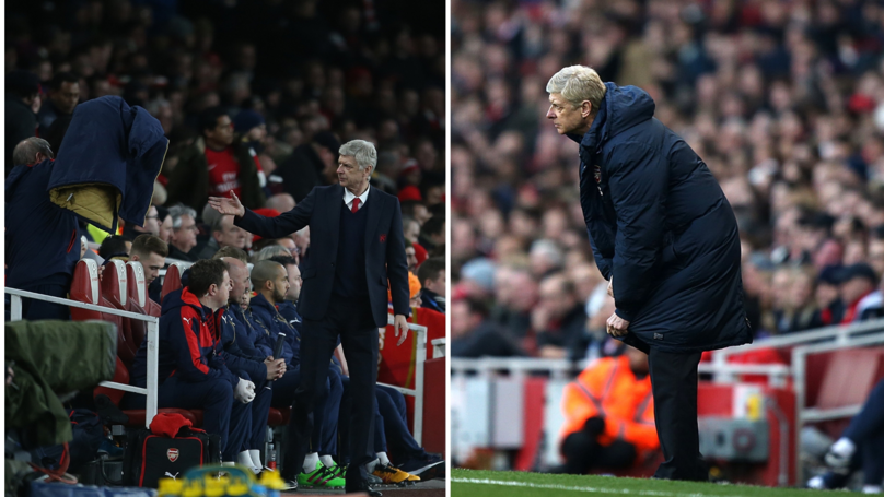 Arsène Wenger Explains Why He Had A Problem With Zipping Up His Coat At Arsenal
