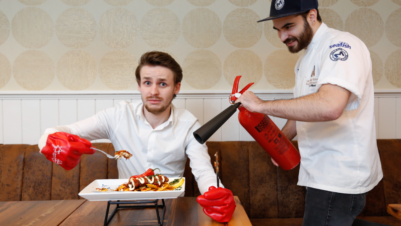Chippy Offers The 'World's Spiciest' Fish And Chips