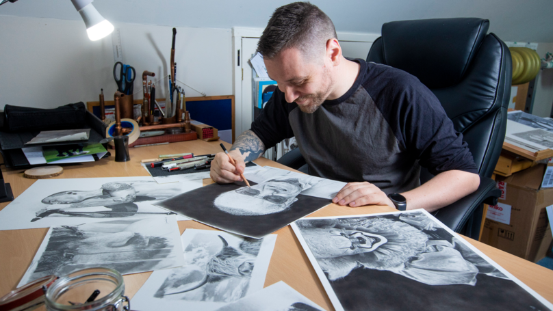 Artist Investigated By Trading Standards Because His Drawings Were Too Good