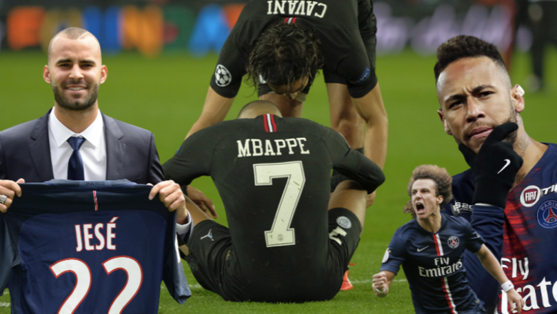 PSG Have Spent €1.17Billion On Players And Still Haven't Got Past Champions League QF's