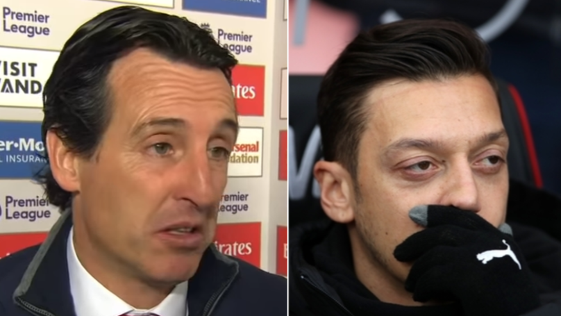 The Real Reason Why Unai Emery Dropped Mesut Ozil From Arsenal XI