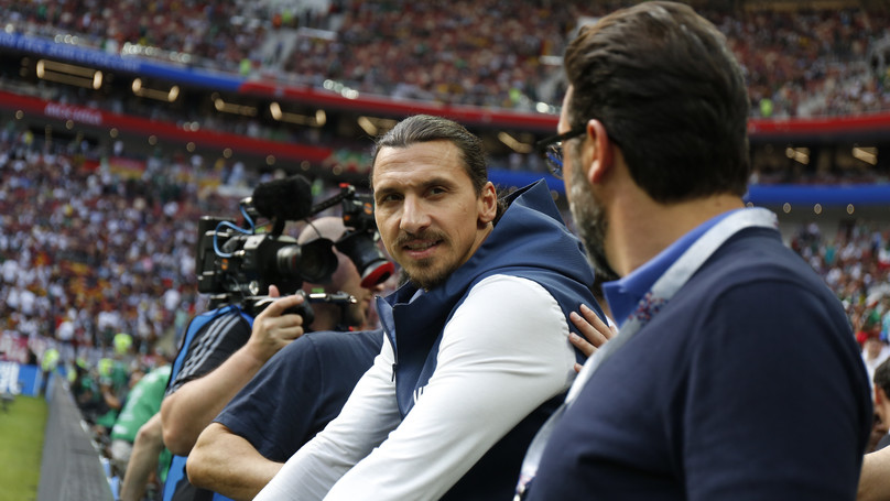 Zlatan Ibrahimovic Takes A Dig At Sweden's World Cup Performances
