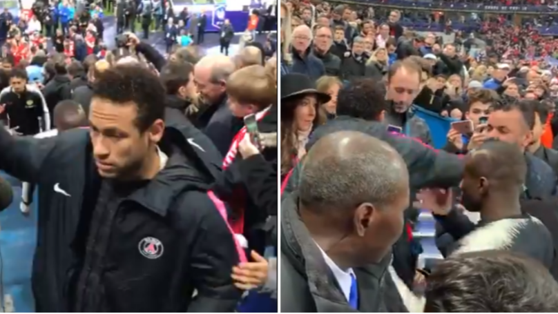 New Footage Shows Fan Pretended To Ask Neymar For Picture Before He Lashed Out