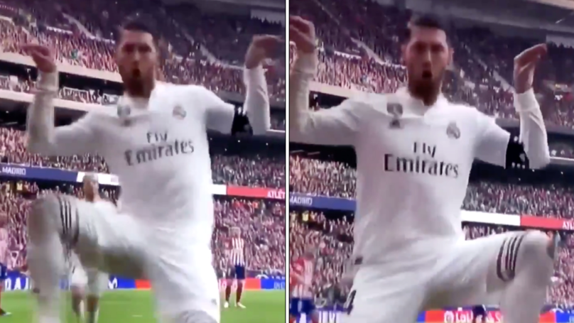 Sergio Ramos Takes A Dig At Antoine Griezmann After Mocking His Fortnite Celebration