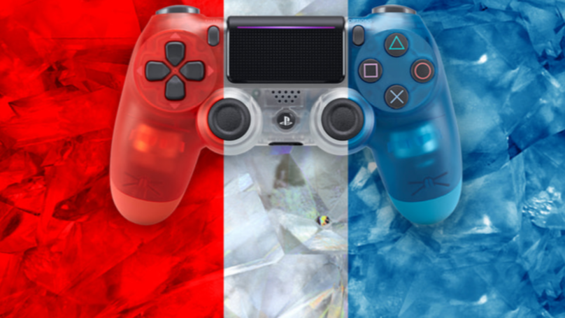 ​Sony Are Releasing Translucent Controllers So You Can PS4 Party Like It's 1999