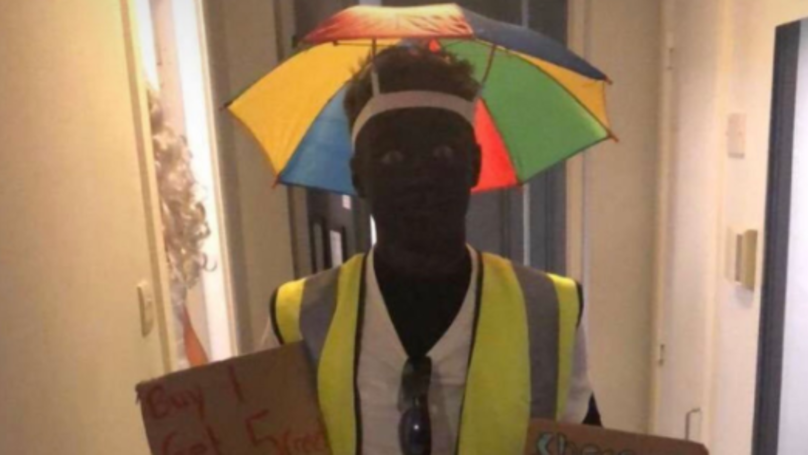 Footballer In Race Storm After 'Blacking Up' For Christmas Party