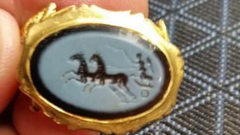 Treasure Hunter Finds 1,800-Year Old Roman Signet Ring In Somerset