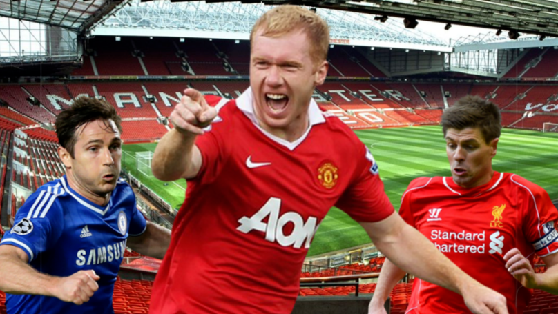 Paul Scholes Voted The Best Midfielder In Poll With Steven Gerrard And Frank Lampard