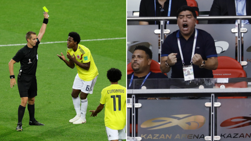 Diego Maradona Says Colombia Were Victims Of 'Theft' In Referee Rant
