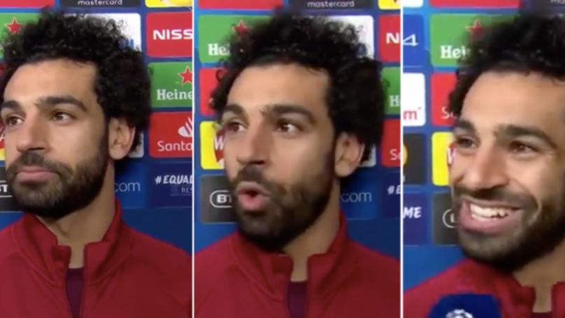 Mo Salah Gives Brilliant Answer When Questioned About Recent Goal Drought