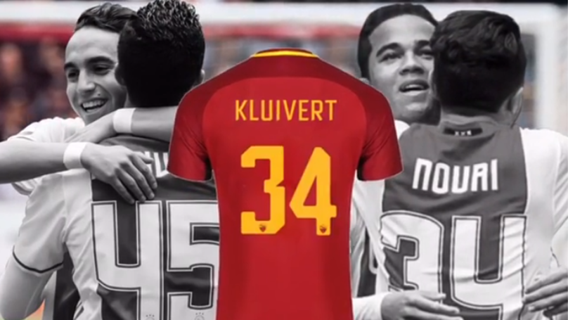 Justin Kluivert Pays Tribute To Abdelhak Nouri With His Roma Shirt Number aa39d7c57