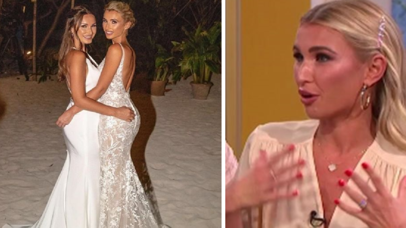 Billie Faiers Squirms As She Reveals How Much Her Lavish Wedding Cost