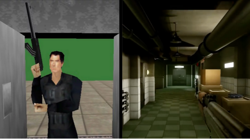 Preview Gameplay Of GoldenEye 007's Unreal Engine 4 Remake Looks Amazing