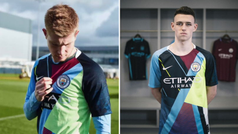 45acfadeb Nike Release Manchester City Mashup Kit Celebrating Six Year Partnership