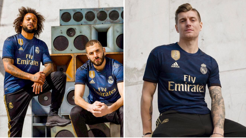 Real Madrid's New Away Kit Is Dripping In Sauce