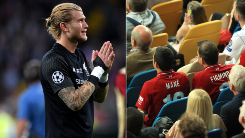 The Reaction From Loris Karius' Girlfriend During The Champions League Final Is Heartbreaking