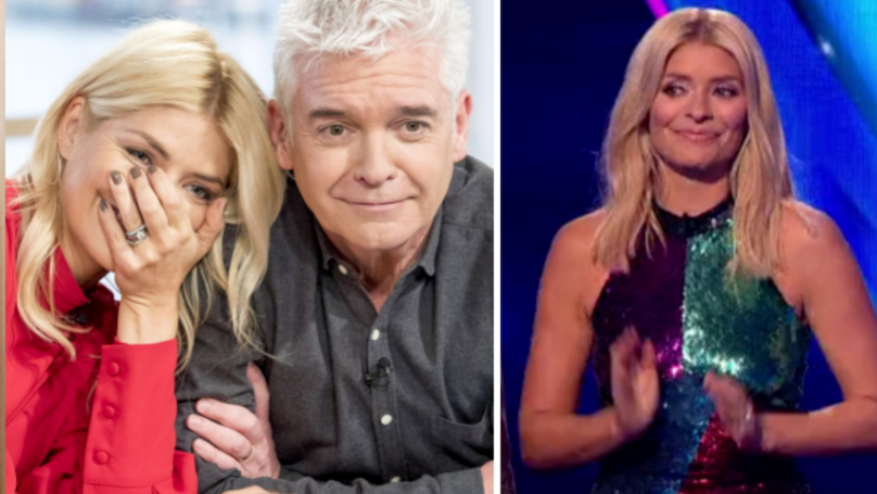 Holly Willoughby Makes Risque Innuendo During Dancing On Ice Final Leaving Viewers in Hysterics