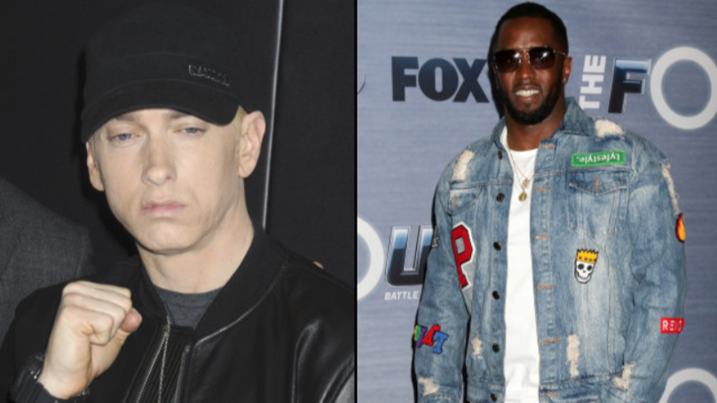Diddy Says That Eminem's Accusation That He Killed Tupac Is 'In His Hands'