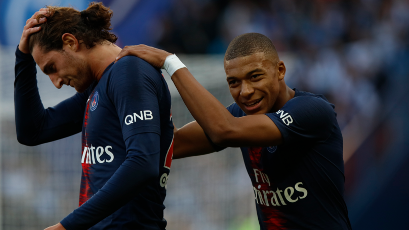The Reason Why Kylian Mbappe And Adrien Rabiot Were Late For PSG Team Meeting
