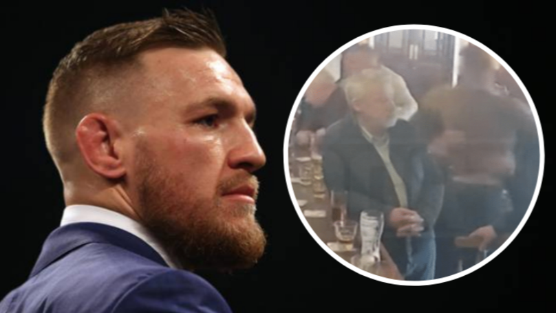 Elderly Man Reportedly Told Conor McGregor He Didn't Want To Drink 'S***' Whiskey