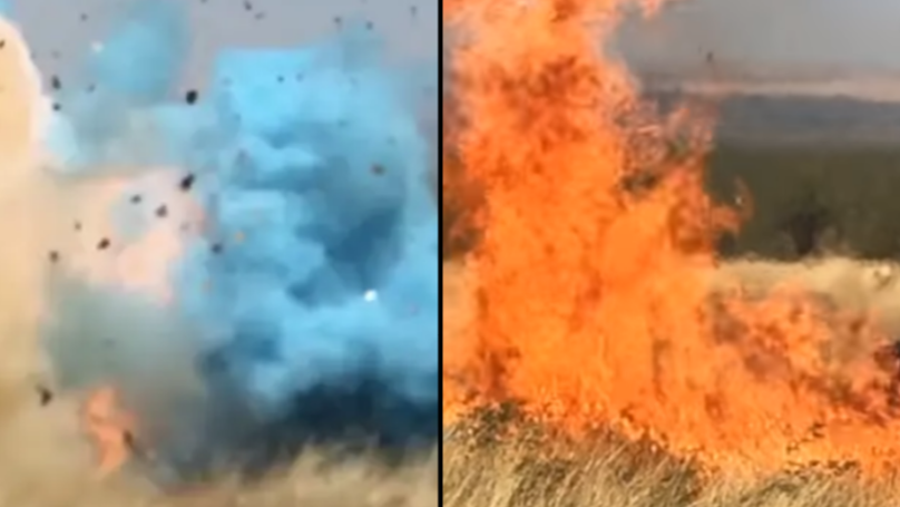 Video Released Of The Gender Reveal Party That Went Wrong, Causing Massive Wildfire