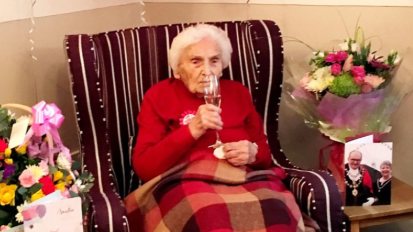 105-Year-Old Former Wartime Nurse Says Avoiding Men Is Secret To Long Life