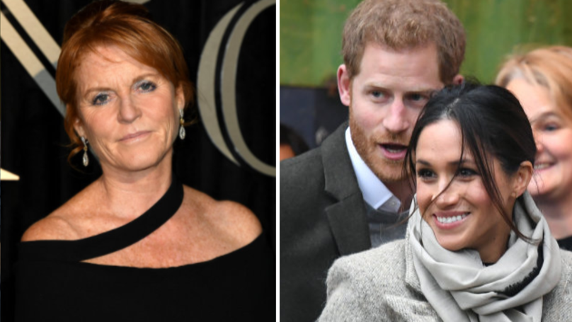 Prince Harry Reportedly 'Won't Invite Sarah Ferguson To His Wedding'