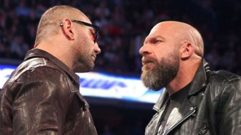 WWE Legend Triple H 'Really Excited For' WrestleMania 35 Match With Batista