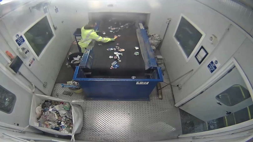 Flare Explodes In Man's Hands After Being Left In Recycling Bin